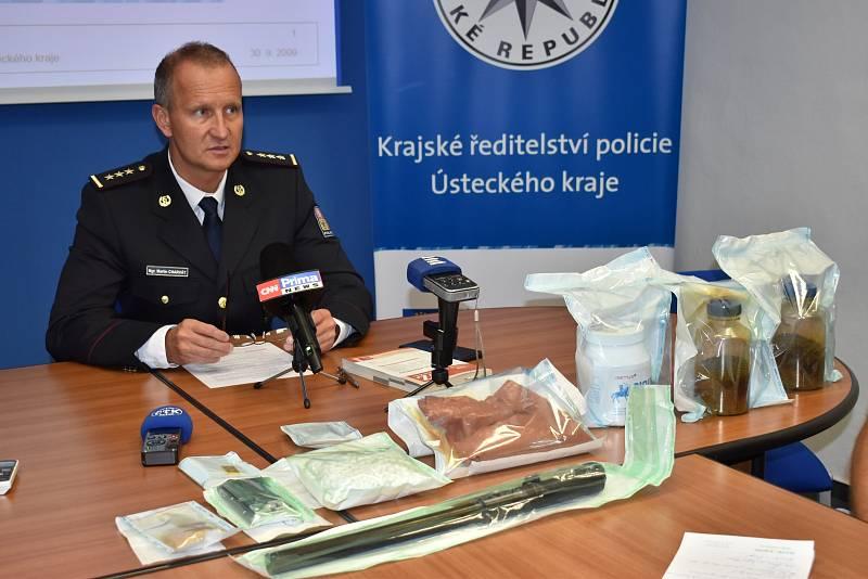 Martin Charvát, vedoucí odboru obecné kriminality policie Ústeckého kraje
