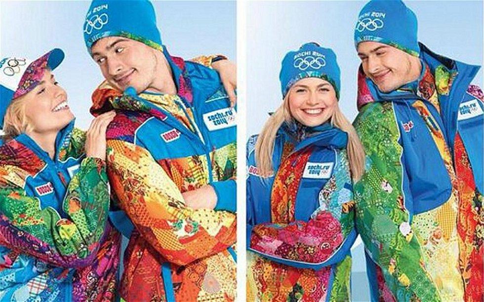 Oblečení ruských sportovců. Na dresech se objeví motivy Pegase a Ptáka ohniváka od návrháře Michaila Kusniroviče.