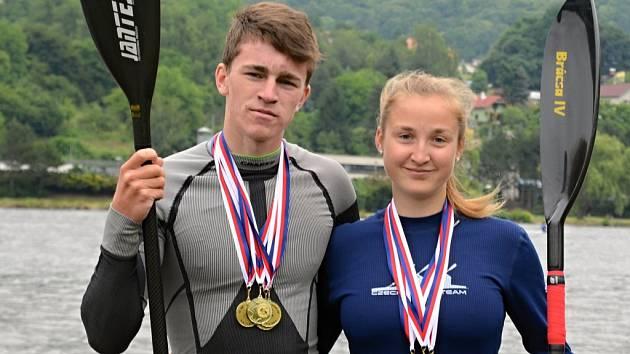 Vilda Kukačka a Adélka Vonešová.