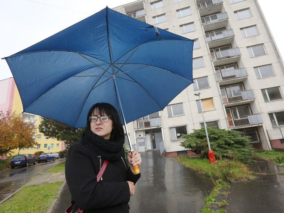 Yveta Tomková plánuje bývalou ubytovnu v Krásném Březně předělat na bydlení pro seniory.