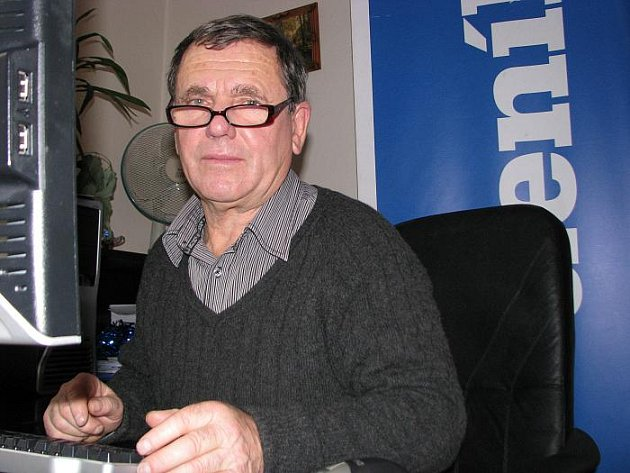 František Ledvinka při on-line rozhovoru pro Ústecký deník