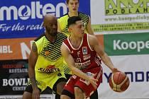 basket Ústí a Vídeň, odveta čtvrtfinále evropského poháru AAC