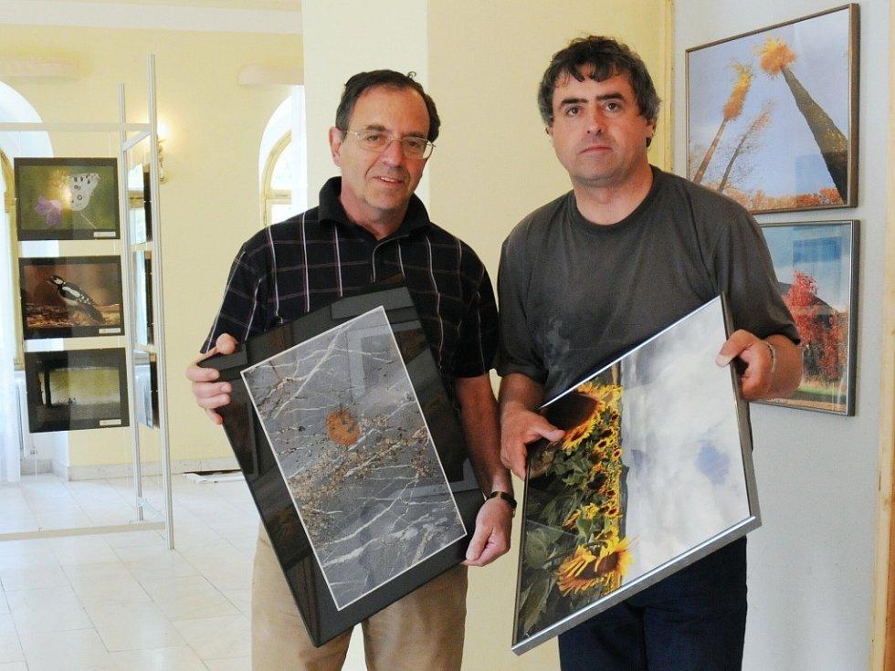 Předloni se v Topolčiankách úspěšně podílel s fotografem Deníku Karlem Pechem na společné mezinárodní výstavě.