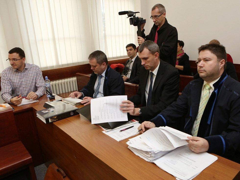 Líčení v kauze ROP Severozápad u ústeckého okresního soudu.