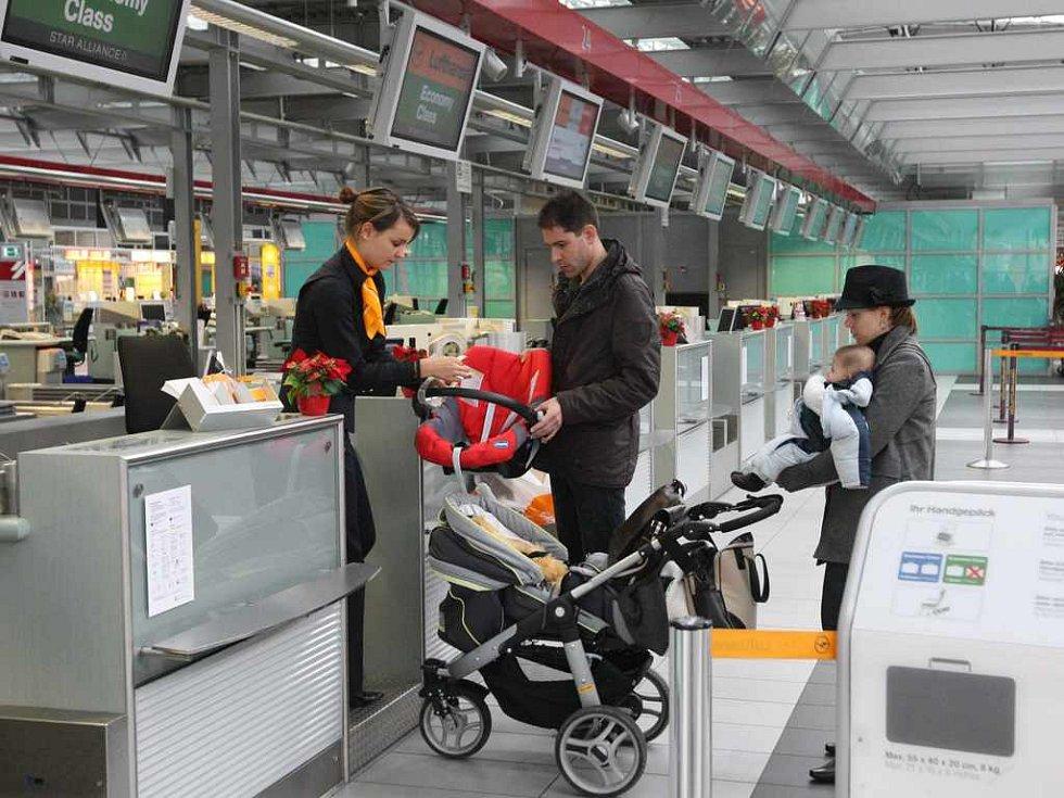 Letiště Drážďany je blízké pro Ústečany