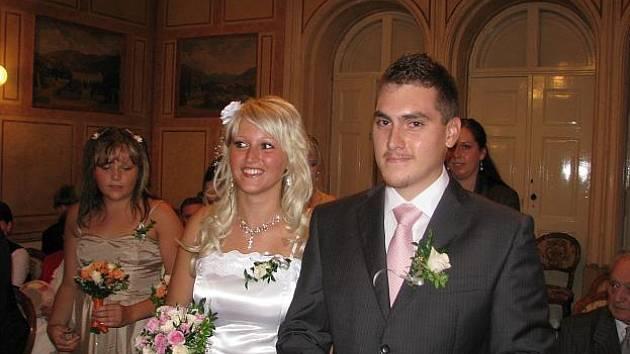 Manželé Podrábských
