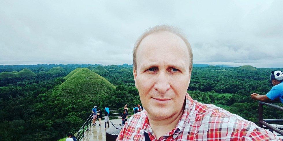 Vít Lukáš na Filipínách.
