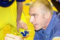 Trenér ústeckých basketbalistů Roman Bednář.