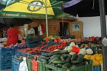 V centru Ústí nad Labem jsou dvě tržnice, využívaná je hlavně ta za OD Labe.