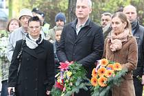 Romana Macová, Martin Hausenblas a Jana Bohuňková.