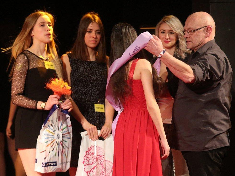 Dívka Talent 2017 - okresní kolo Ústí nad Labem.