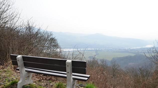 Výhled do Labského údolí.