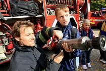 Dvanáct ústeckých škol se zúčastnilo na dopravním hřišti městské policie v Krásném Březně akce zaměřené na prevenci úrazů.