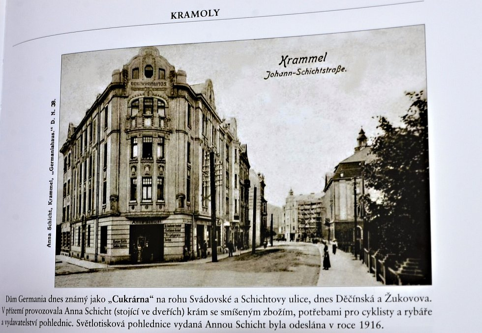 Po stopách starých pohlednic -  Střekov.