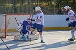Elba DDM Ústí n. L. - Most 9:0, hokejbal, Crossdock extraliga 2019/2020.