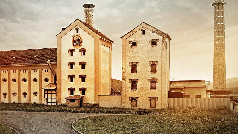 Pivovar ve Velkém Březně.