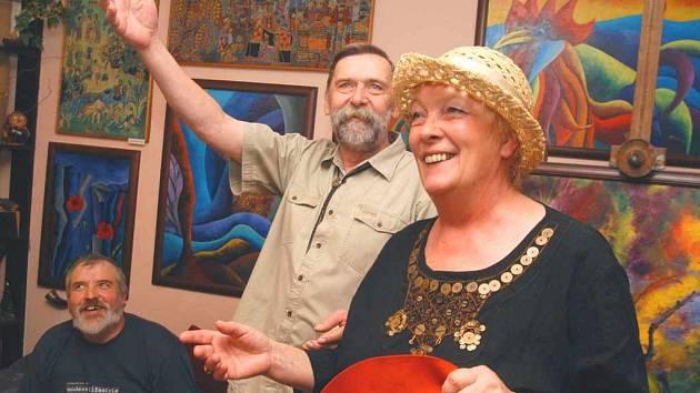 Výtvarníci Karel a Hana Kitovi
