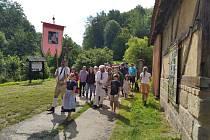 Poutní procesí projde v sobotu Zubrnicemi ke kostelu sv. Maří Magdaleny.