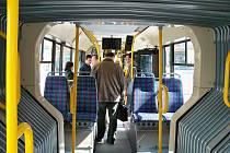 Představení nového autobusu na CNG.