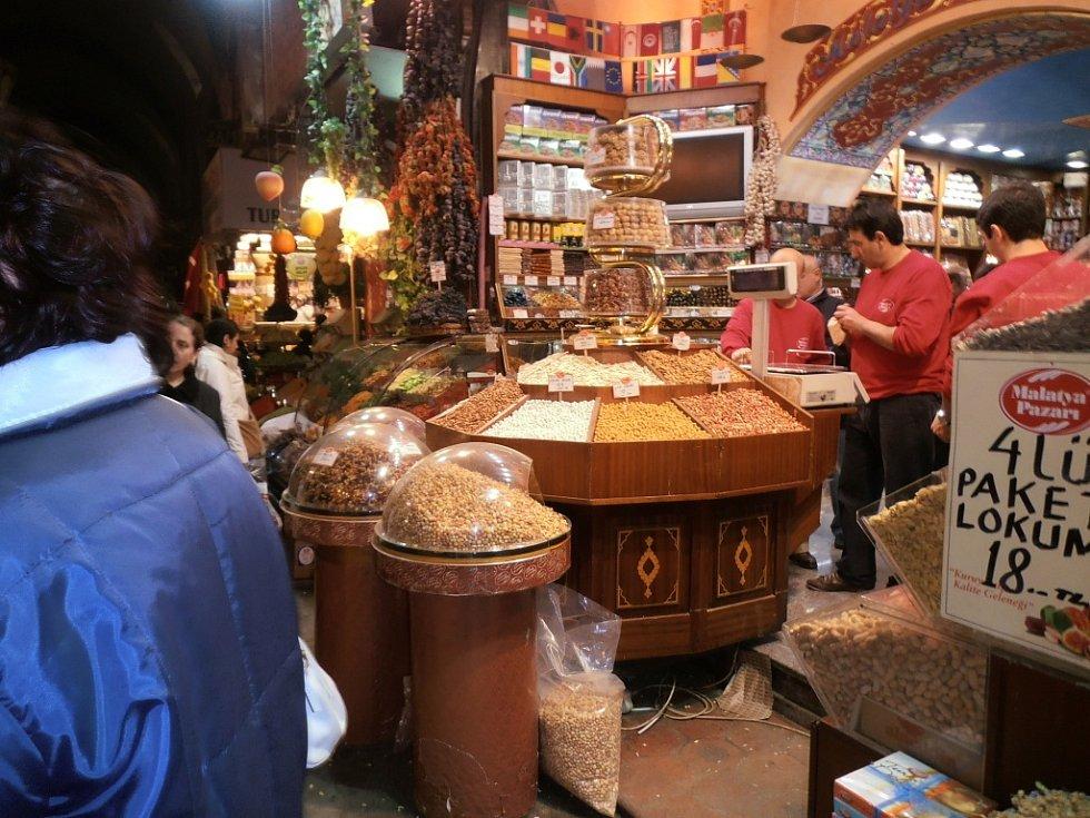 Egyptský bazar.