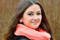 Vítězka internetového hlasování Tereza Varvažovská.