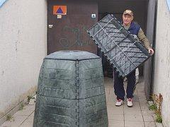 Výdej kompostérů končí v Ústí v pátek 5. listopadu.