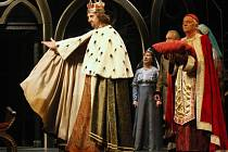 RADEK ZIMA, profesionální herec a rodák z Ústí nad Labem, v Noci už roky obléká kostým císaře Karla IV.