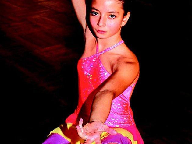 Ingrid Stará se věnuje krasobruslení, ale vyniká i v tanečním kroužku.