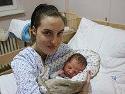 Eliška Dvořáková se narodila Kateřině Maekeové z Ústí nad Labem 17.ledna v 17.50 hod. v ústecké porodnici. Měřila 50 cm a vážila 3,3 kg