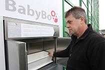 Nemocnice v Ústí je první v kraji, která má nový druh babyboxu.