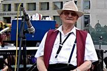 Zemřel jazzman Camfourek, muzikant z Ústí i z Děčína.