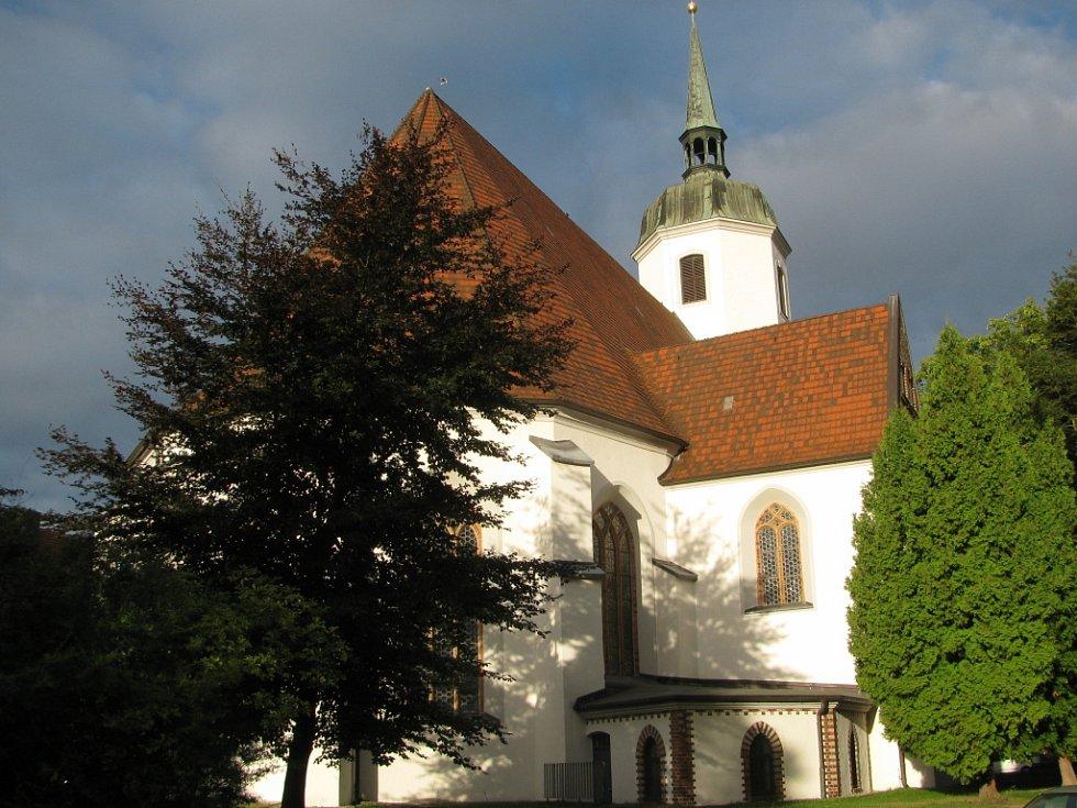 Model kostela sv. Jana.