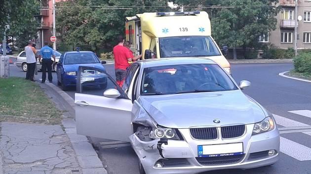 NEBEZPEČNÁ KŘIŽOVATKA na Klíši je místem častých dopravních nehod.