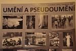 "Výstava ""Underground a disent na Ústecku""."
