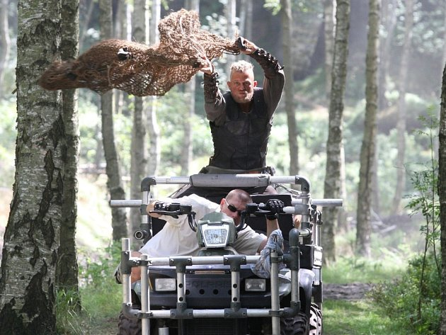Natáčení filmu Götz v Tisé