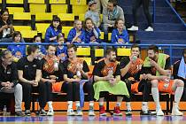 Basketbalový zápas Ústí a Svitavy, nadstavbová část A1 2018/2019