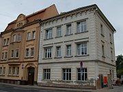 Kotlebova dodávka v Ústí nad Labem v městské části Klíše.