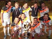 Čeští futsalisté v Ústí podlehli Rumunsku 2:3.