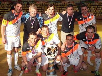 Hráči Combixu Ústí ovládli MČR veteránů.