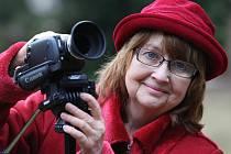 Výherkyně soutěže Střekovská kamera 2012 Alena Krejčová.