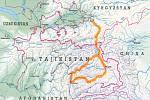 Dalibor Beneš přejel Pamir na koloběžce.