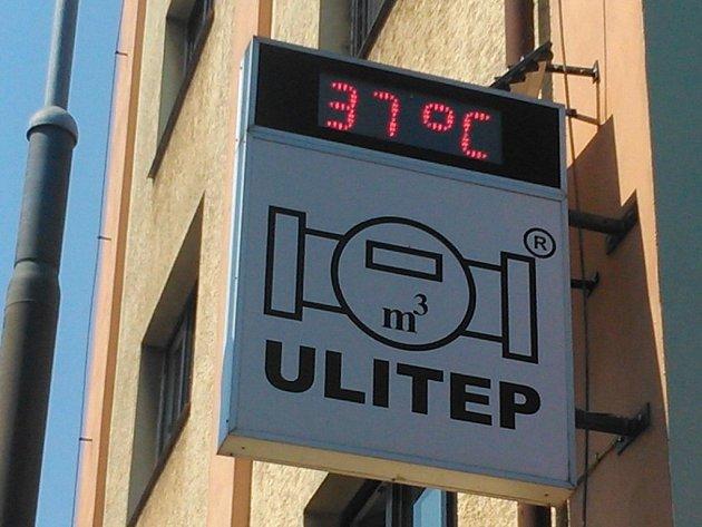Dnes odpoledne v centru Ústí.