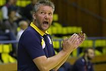 Trenér Petr Brom.