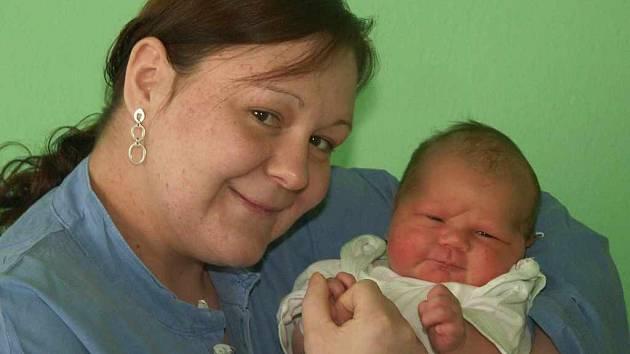 Danuše Sedláčková porodila 22. 1. 2008 syna Zděnka Urbana
