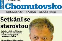 Nové vydání Týdeníku Chomutovsko