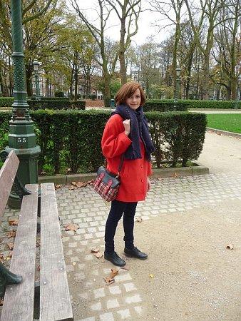 TEREZA MIKULÁŠKOVÁ studuje vBruselu.