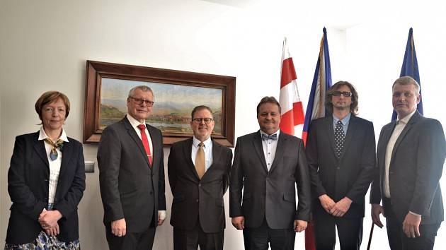 Izraelský velvyslanec navštívil Ústí nad Labem.