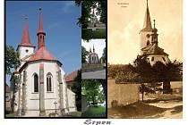 Ke kulatému jubileu vydala obec Račiněves barevný kalendář s historickými a současnými snímky. Srpen.