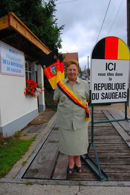 Madamé Présidente Georgette Bertin-Pourchet.