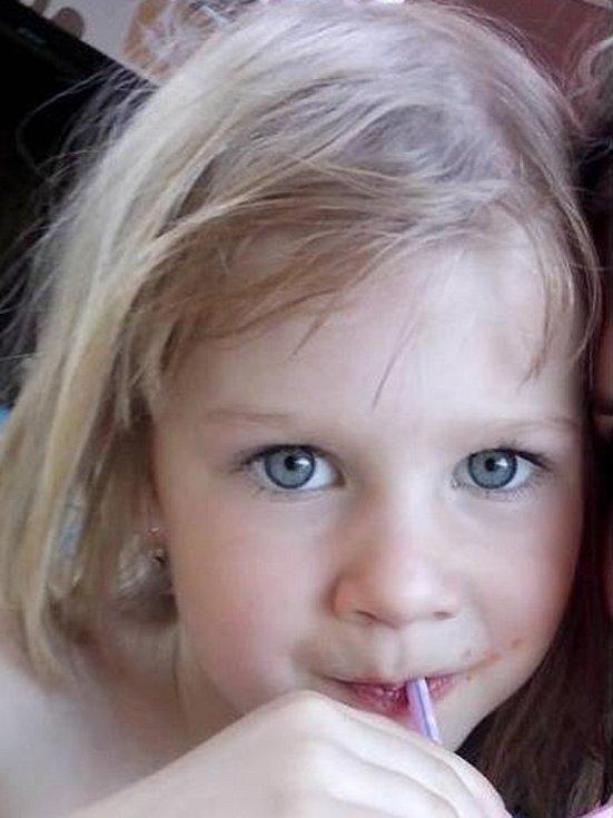 Lea Moravcová - 5 let, Ústí nad Labem.